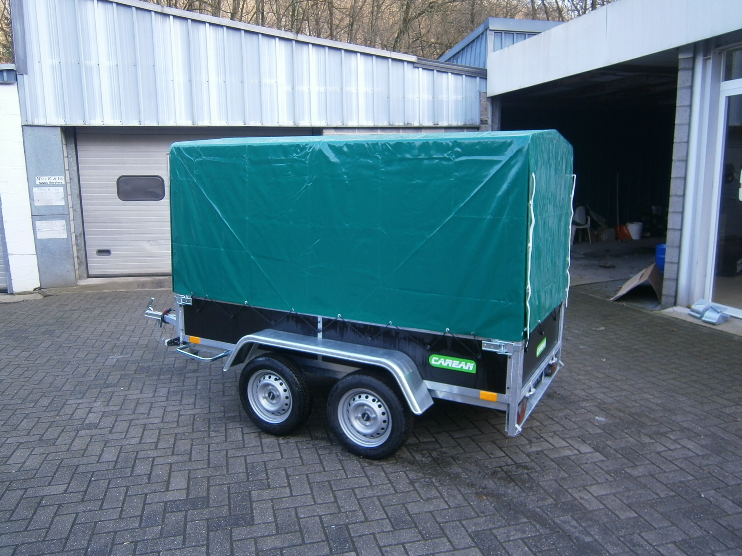 remorque bois 1300 kg 2 essieux frein s 1 hauteur de. Black Bedroom Furniture Sets. Home Design Ideas